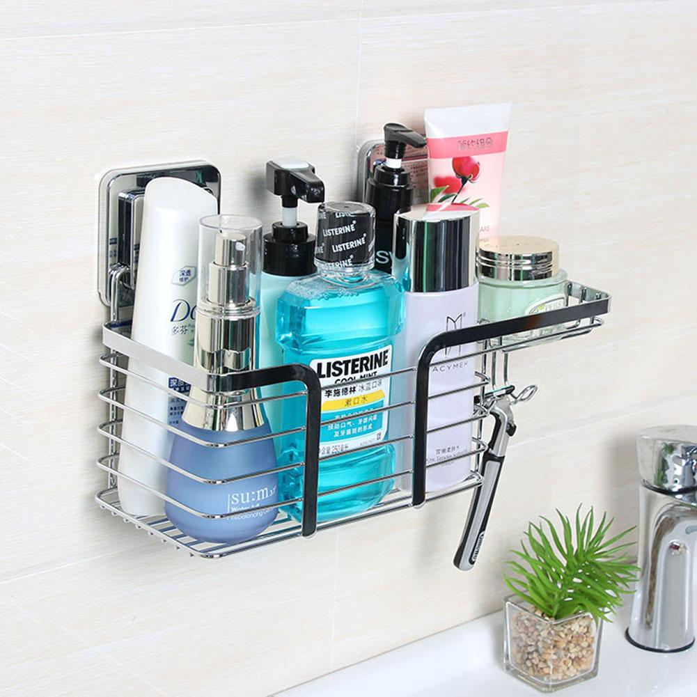 Shower Corner Rack Bathroom Wall Shelf Organizer Storage Caddy ...