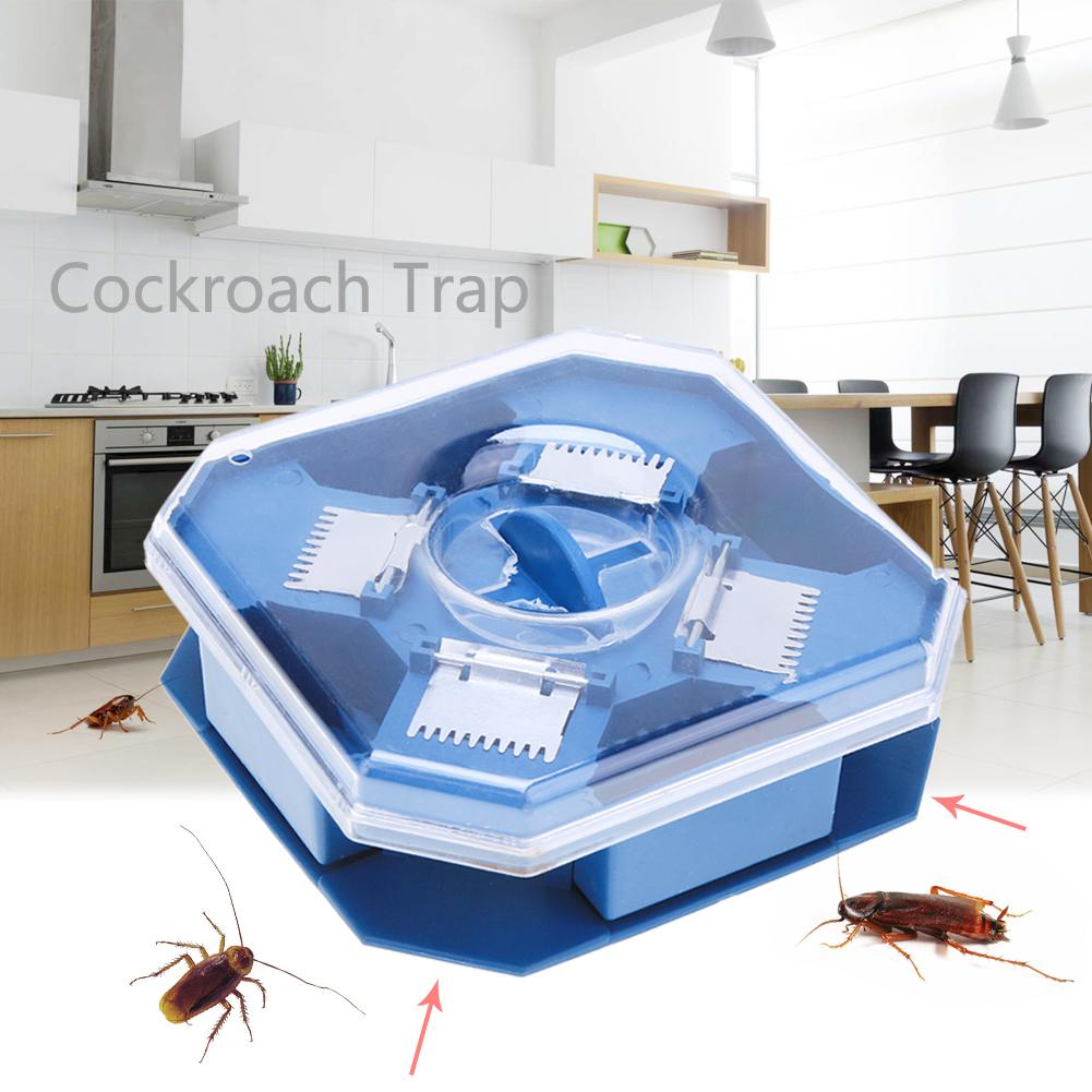 Details about Insect Bug Trap Catcher Cockroach Ant Bed Bug Flea Carpet Beetle Killer Box Case