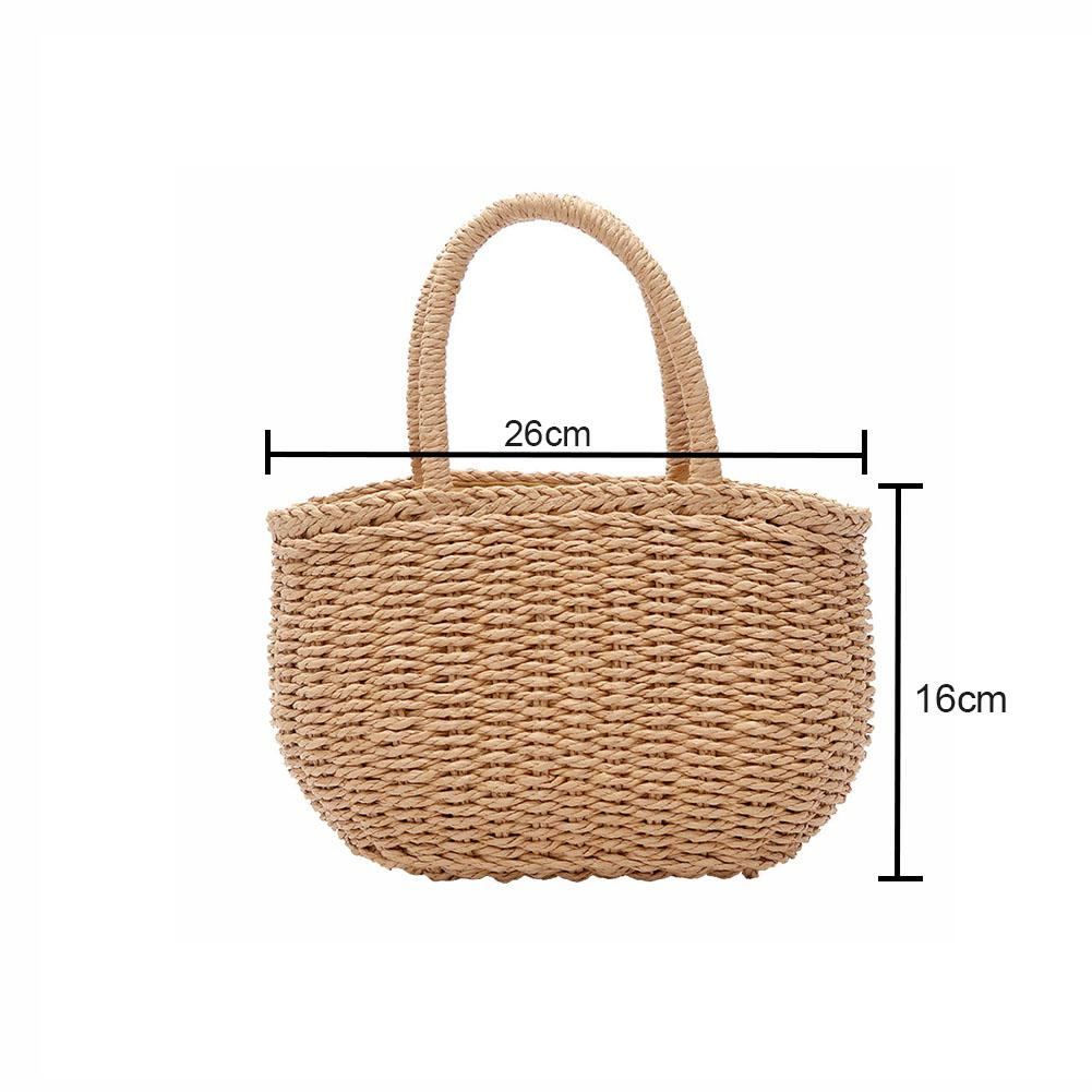 Coin Purses & Holders Fashion Women Straw Purse Ladies Straw Beach Coin Wallet Shoulder Bag Round Fluffy Woven Travel Holiday Tote Handbag