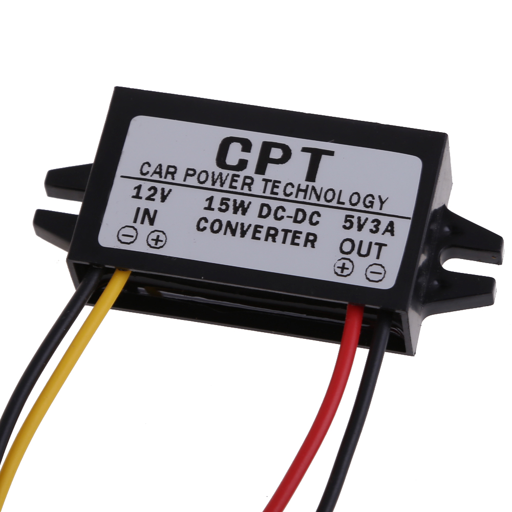 Dc To Converter Regulator 12v 5v 3a 15w Car Led Display Power Regulated Supply Circuit Diagram And Does Not Apply