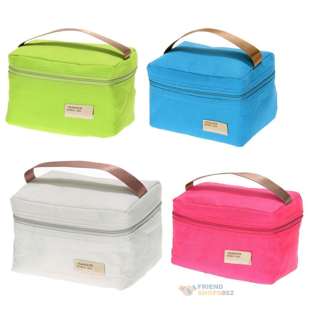 portable insulated thermal cooler bento lunch box tote picnic storage holder bag ebay. Black Bedroom Furniture Sets. Home Design Ideas