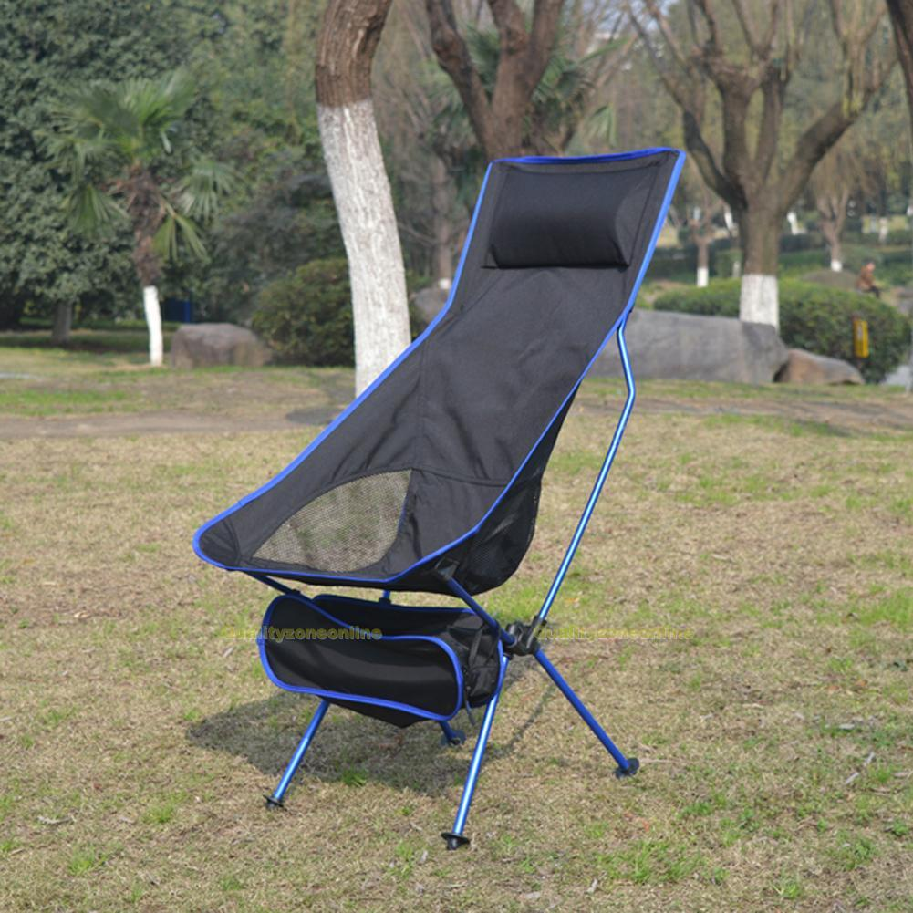 Folding Chair Fishing Camping Hiking Gardening Portable