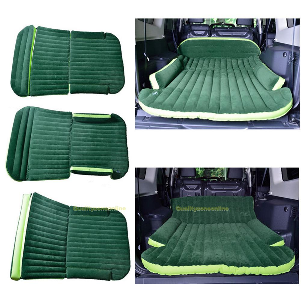 SUV Inflatable Mattress Air Bed Mat Travel Camping Car