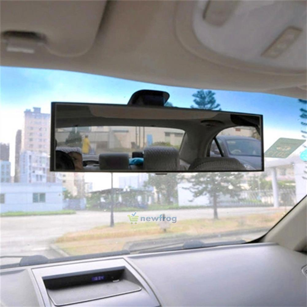 300mm large car vehicle inside rear view panoramic curve mirror anti daze clip o ebay. Black Bedroom Furniture Sets. Home Design Ideas