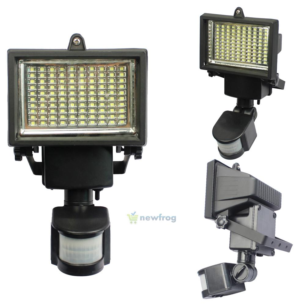 100 LED Solar Powered Motion Sensor Security Flood Light