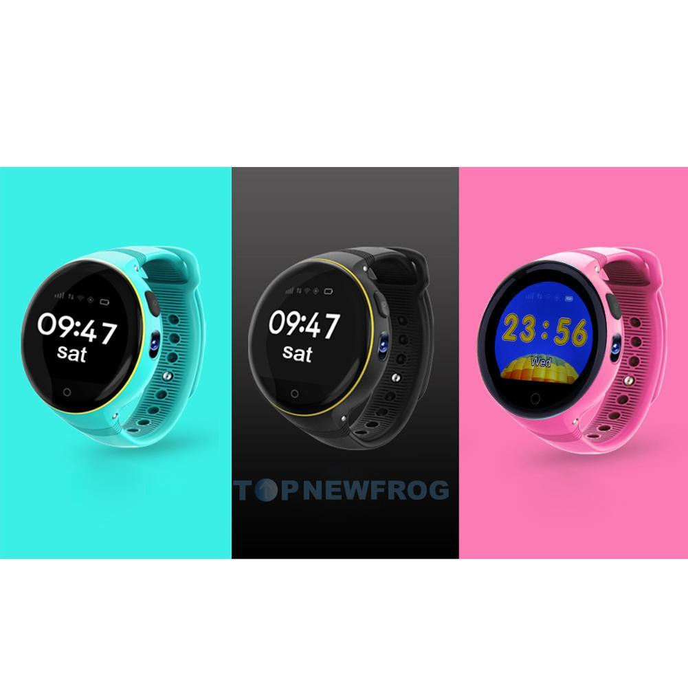 kinder telefon smartwatch gps uhr tracker sos ruf wifi. Black Bedroom Furniture Sets. Home Design Ideas