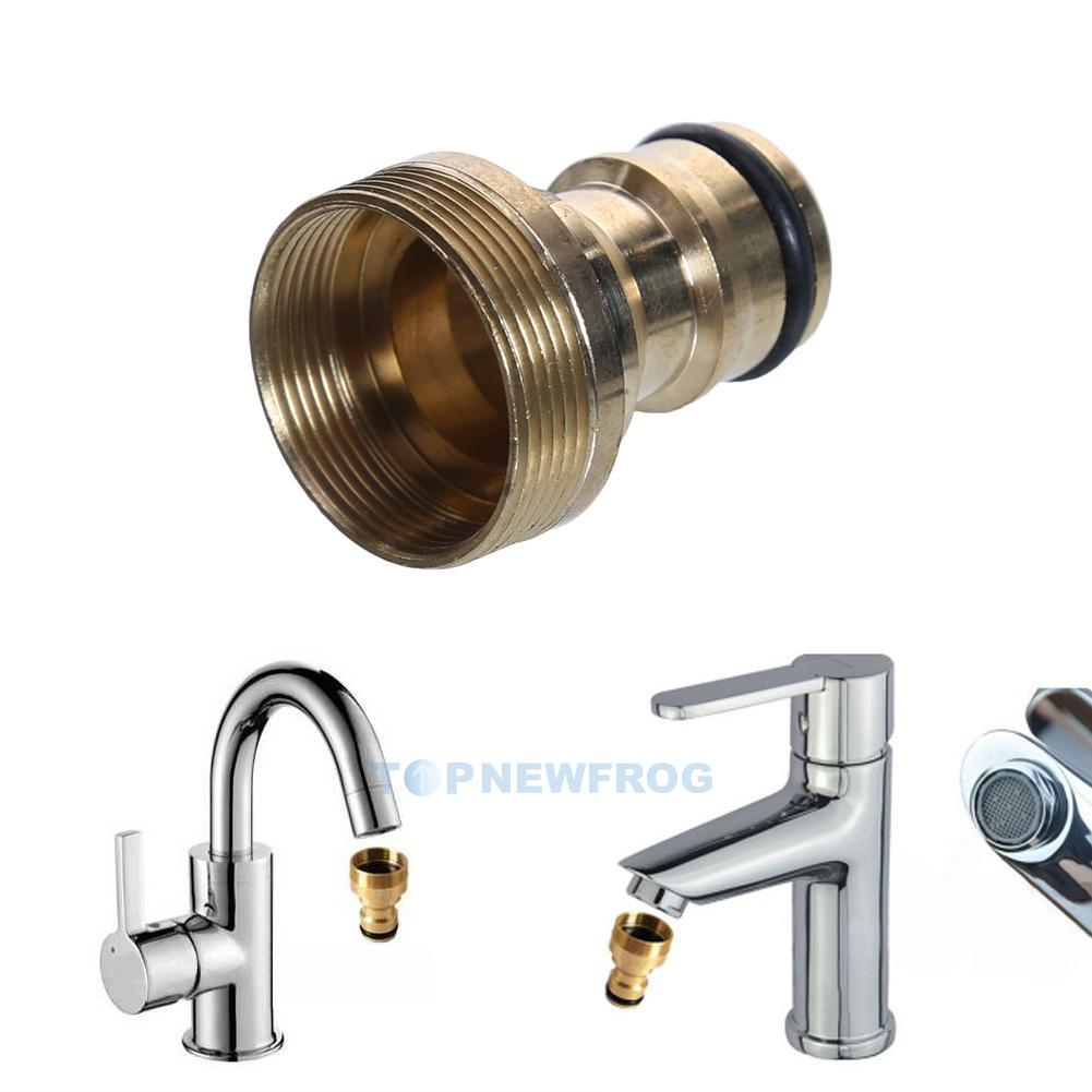 Universal Kitchen Garden Tap Connector Mixer Hose Adaptor Pipe ...