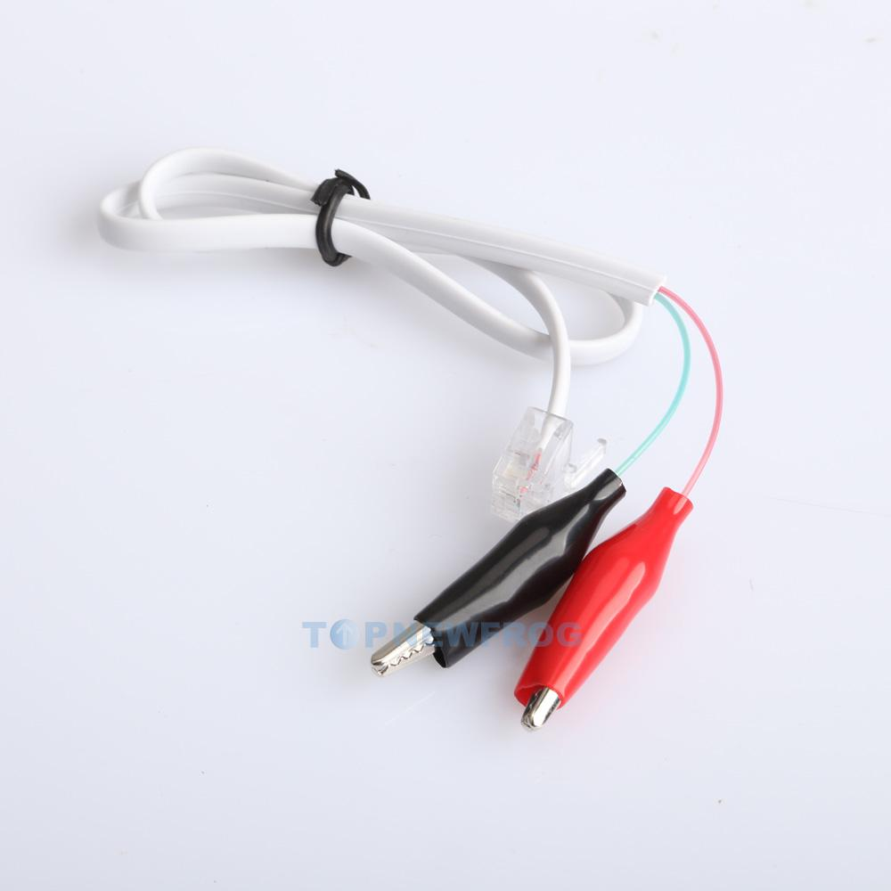 home phone telephone rj11 alligator clip test tester cable wire cord ebay