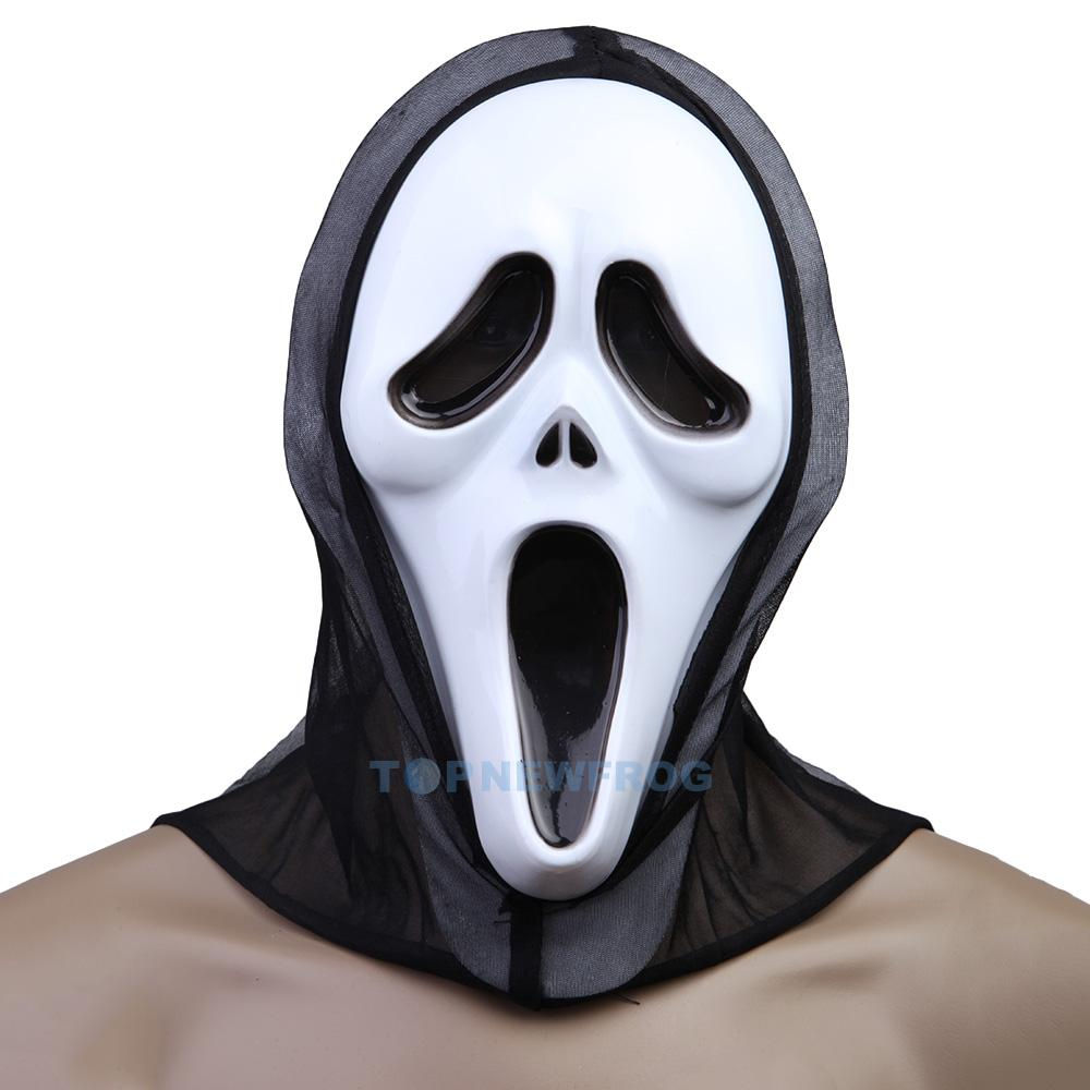 scream halloween maske fasching karneval kost m horror party film movie man ebay. Black Bedroom Furniture Sets. Home Design Ideas