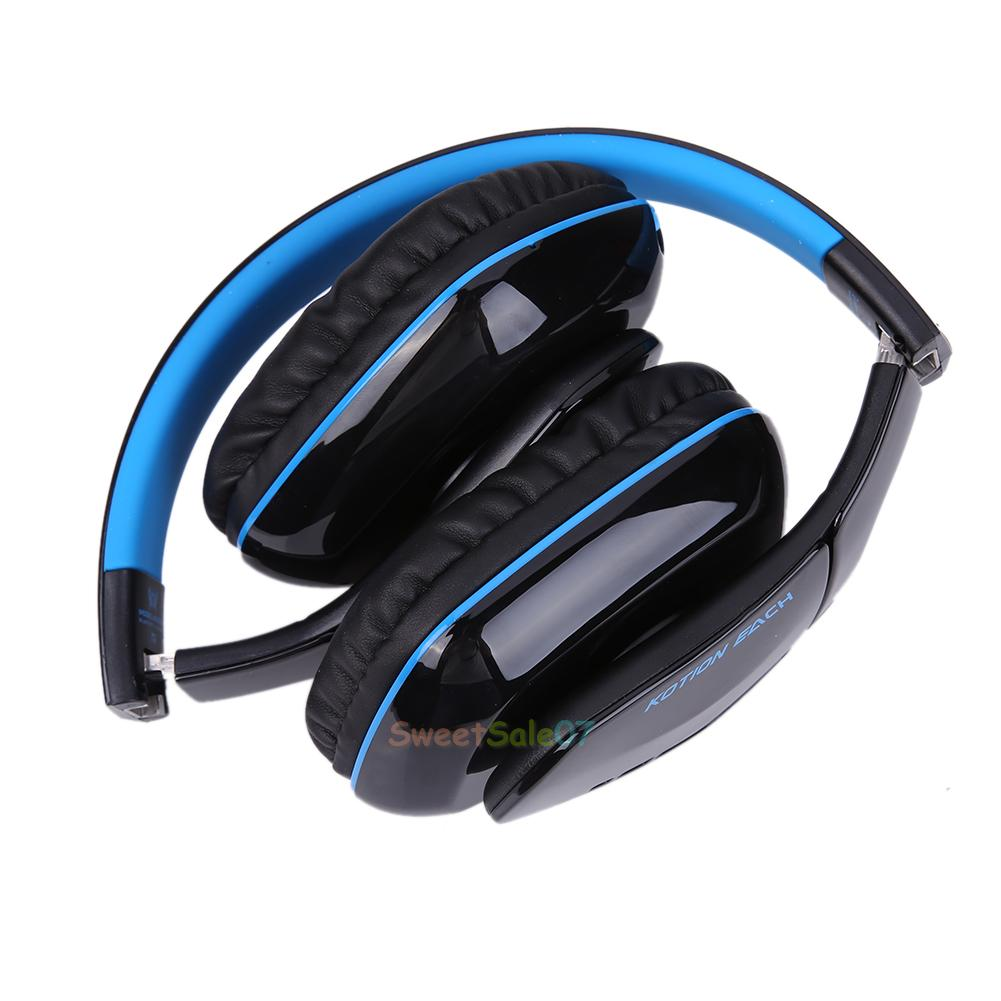 for ps4 smartphone pc foldable headset bluetooth 4 1 wireless headphone with mic ebay. Black Bedroom Furniture Sets. Home Design Ideas