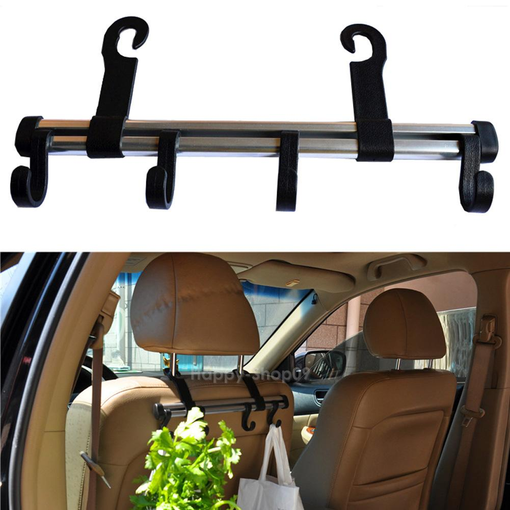 auto car truck vehicle seat purse bag handrest 4 hooks hanger holder organizer ebay. Black Bedroom Furniture Sets. Home Design Ideas