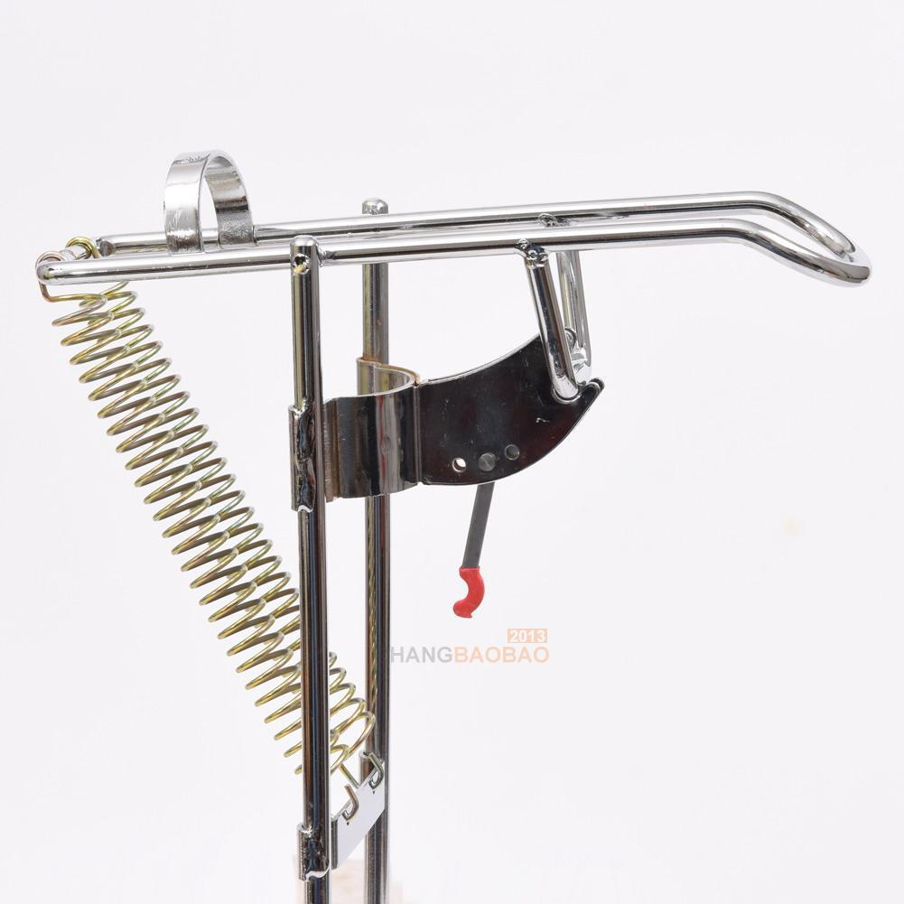 Automatic double spring angle pole fish pole bracket for Automatic fishing pole