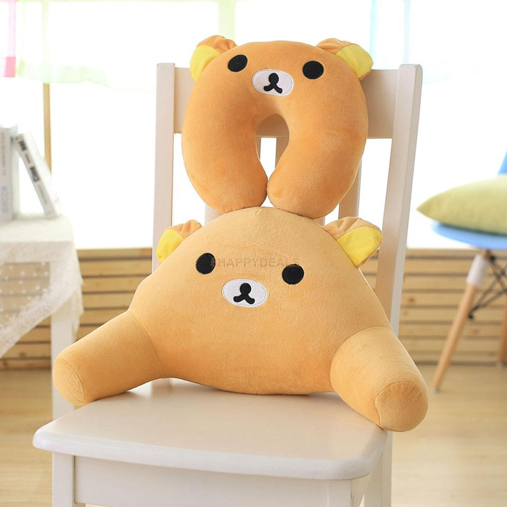 Cute Animal Shaped Pillows : Cute Cartoon Animal U Shaped Soft Travel Pillow Neck Support Head Rest Cushion eBay
