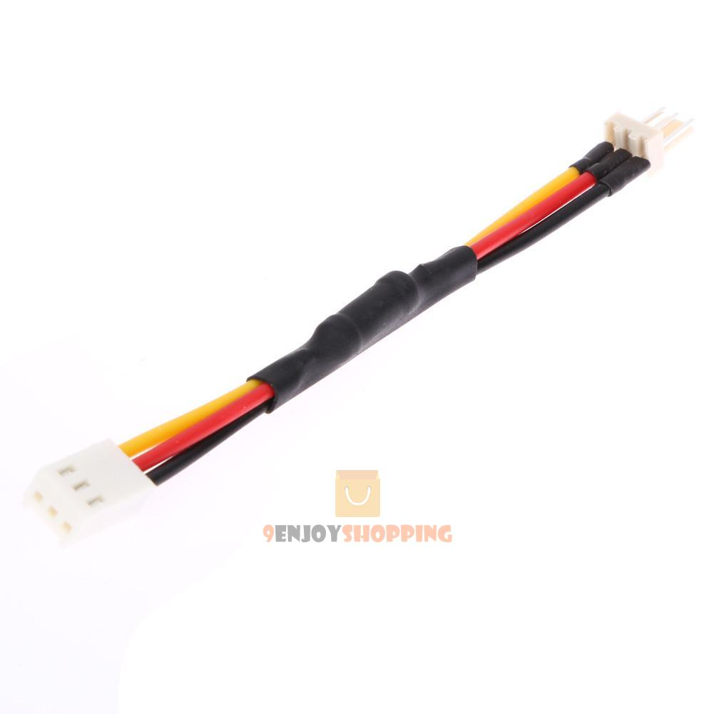 Long Fan Cords : Pcs pin reduce pc fan speed noise extension resistor