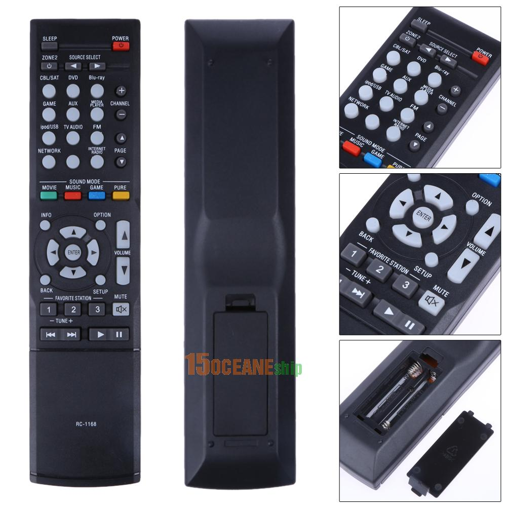 New Remote Control RC-1168 For DENON AVR1613 AVR1713 1912 ...