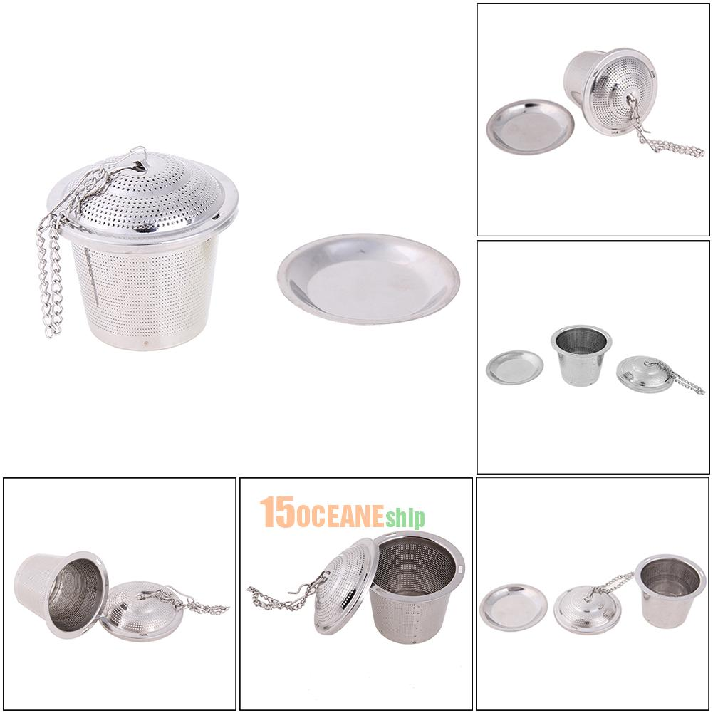 Various Stainless Steel Tea Infuser Loose Leaf Strainer Filter Herb Steeper