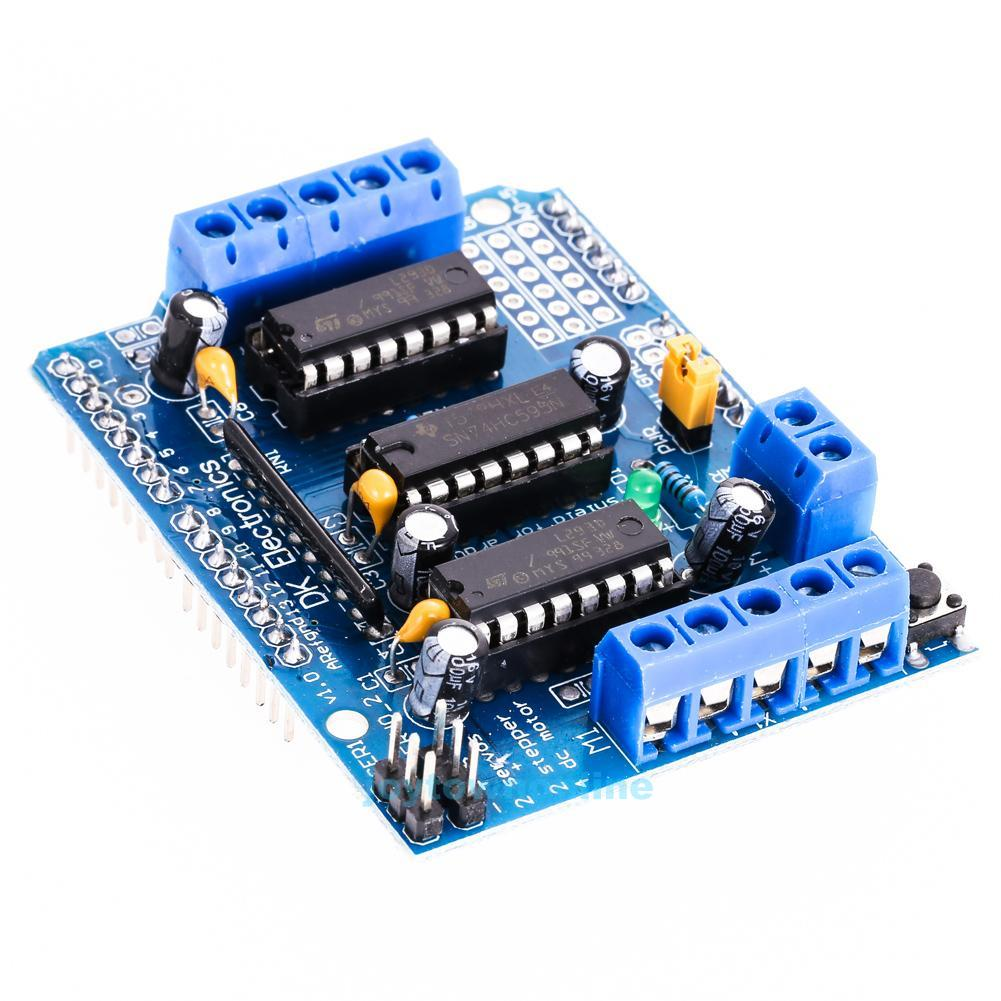Motor drive expansion shield module l d for arduino