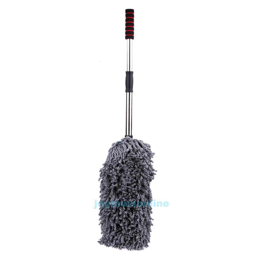 car wash duster house cleaning brush wax mop microfiber telescoping dusting dust ebay. Black Bedroom Furniture Sets. Home Design Ideas