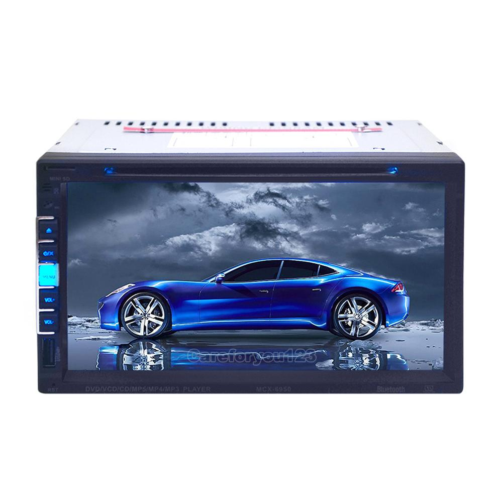 double 2 din 7 st r o dvd de voiture lecteur cd bluetooth radio ipod sd usb mp3 ebay. Black Bedroom Furniture Sets. Home Design Ideas